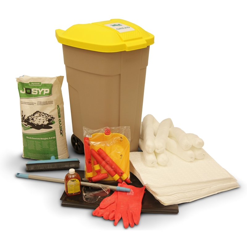 OSK 104 C - Wheeled container oil-only spill kit